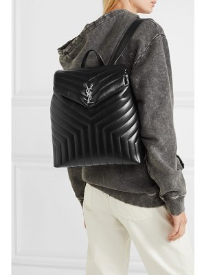 Saint Laurent loulou medium quilted leather backpack