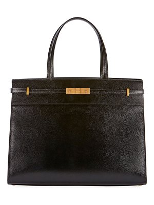 Saint Laurent Manhattan Medium Grained Tote Bag