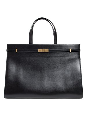 Saint Laurent manhattan medium leather tote bag
