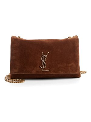 Saint Laurent medium kate suede crossbody bag