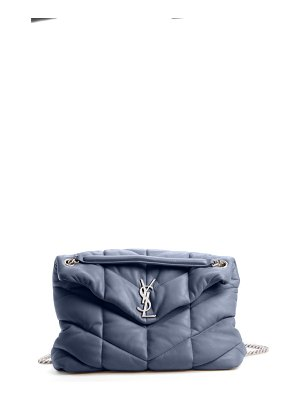 Saint Laurent medium loulou puffer quilted leather crossbody bag