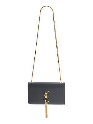 Saint Laurent 'medium monogram' leather shoulder bag