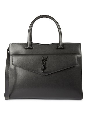 Saint Laurent medium uptown leather satchel