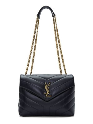 Saint Laurent navy small loulou bag
