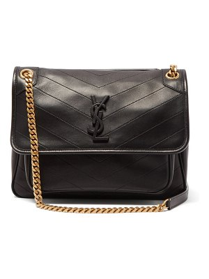 Saint Laurent niki medium chevron-quilted leather shoulder bag