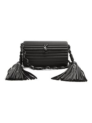 Saint Laurent Opium Tassel Embellished Leather Cross Body Bag