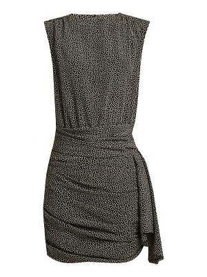 Saint Laurent Polka-dot print crepe de Chine dress