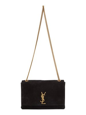 Saint Laurent reversible black medium kate bag
