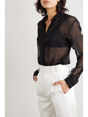 Saint Laurent silk-chiffon shirt