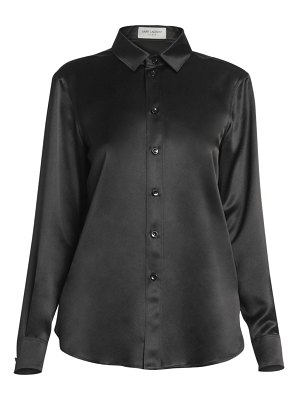 Saint Laurent silk satin blouse