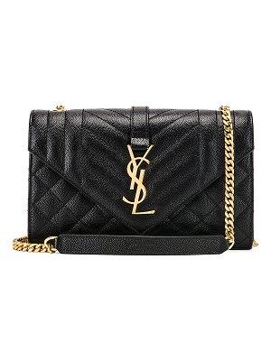 Saint Laurent Small Monogramme Envelope Chain Bag