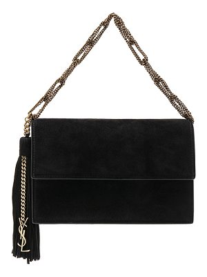 Saint Laurent Small Suede Chain Bag