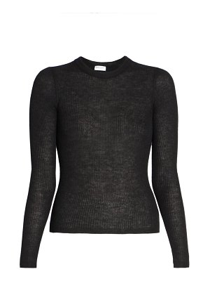 Saint Laurent stretch wool-blend knit top