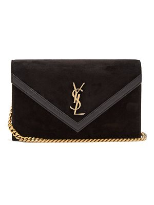 Saint Laurent suede cross body bag
