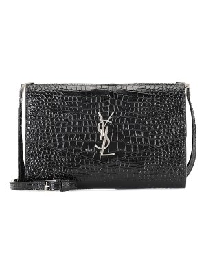 Saint Laurent uptown leather crossbody bag