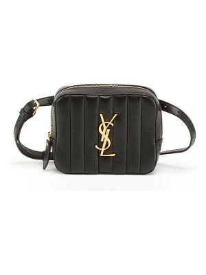 Saint Laurent Vicky Horizontal Quilted Belt Bag