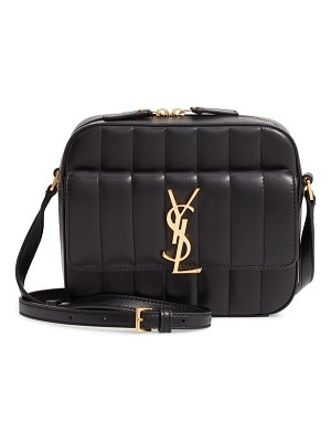 Saint Laurent vicky leather camera bag