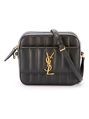 Saint Laurent Vicky Medium YSL Monogram Quilted Camera Bag