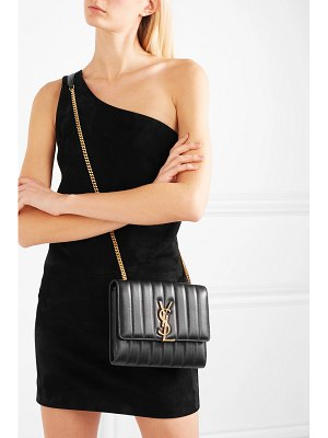 Saint Laurent vicky quilted leather shoulder bag