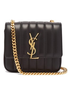 Saint Laurent vicky small leather bag