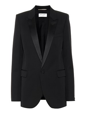 Saint Laurent virgin wool blazer