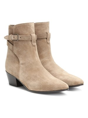 Saint Laurent west jodhpur 40 suede ankle boots