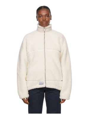 SAINTWOODS reversible  sherpa jacket