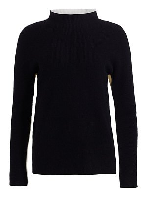 Saks Fifth Avenue collection cashmere funnelneck sweater