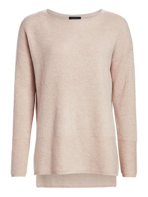 Saks Fifth Avenue collection cashmere high-low tunic