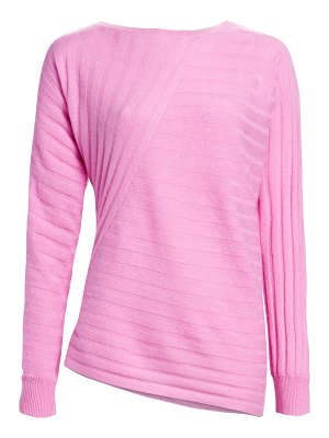 Saks Fifth Avenue collection ribbed cashmere sweater