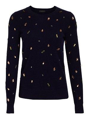 Saks Fifth Avenue embellished cashmere sweater