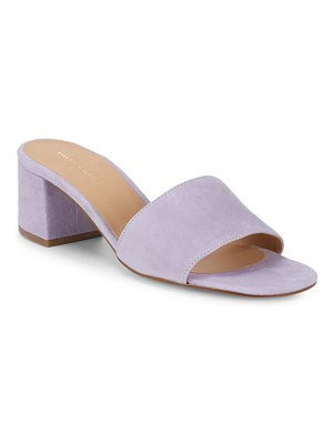 Saks Fifth Avenue Suede Mules