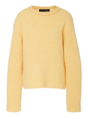 Sally Lapointe airy cashmere silk ribbed sweater size: m/l