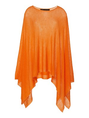 Sally Lapointe asymmetric knitted poncho