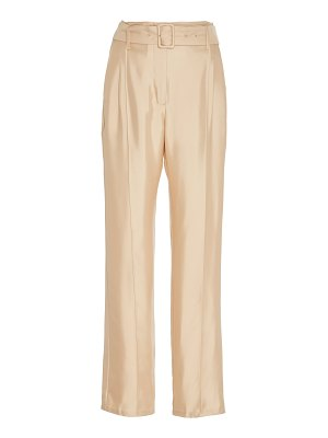 Sally Lapointe belted silk pants