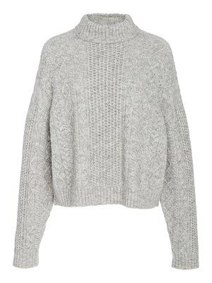 Sally Lapointe cable-knit wool-blend sweater size: s