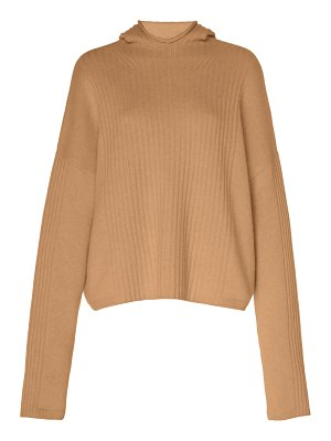 Sally Lapointe cashmere hooded sweater
