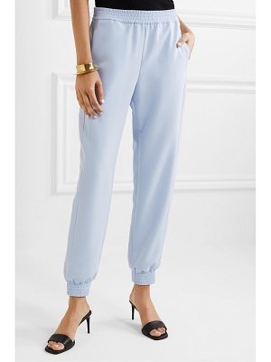 Sally Lapointe crepe track pants