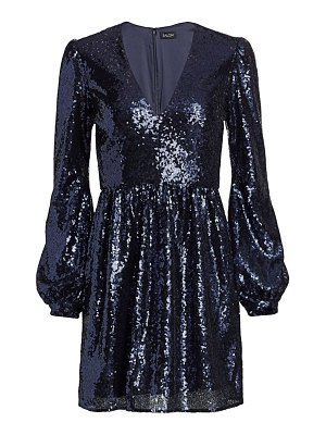 Saloni camille sequin mini dress