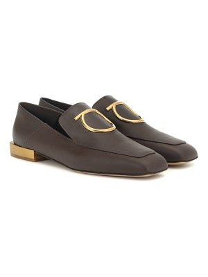 Salvatore Ferragamo lana leather loafers