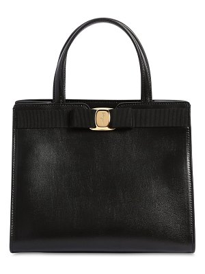 Salvatore Ferragamo New vara leather top handle bag