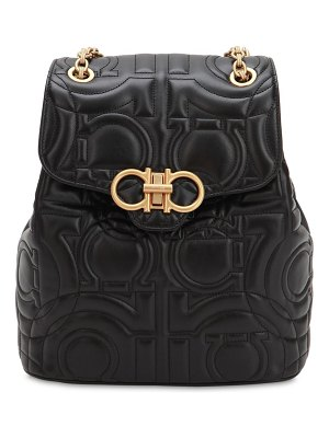 Salvatore Ferragamo Quilted leather backpack