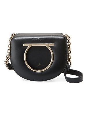 Salvatore Ferragamo Small Lock Gancio Crossbody Bag