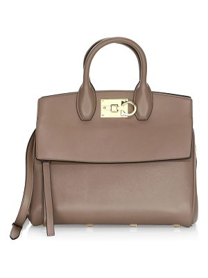 Salvatore Ferragamo small studio leather satchel