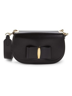 Salvatore Ferragamo Small Vara Leather Crossbody Bag