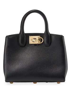 Salvatore Ferragamo The Studio Mini Leather Satchel Bag