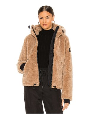SAM. bailey faux fur jacket