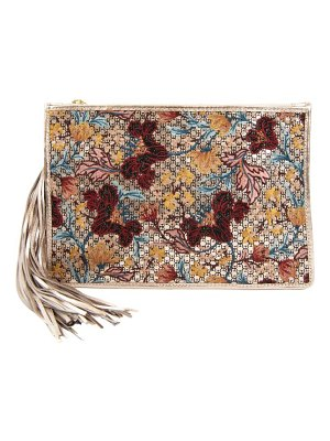 Sam Edelman Alia Embroidered Clutch