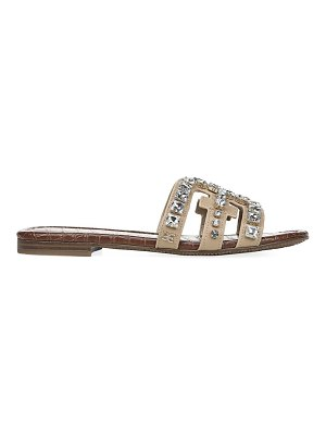 Sam Edelman bay embellished leather flat sandals