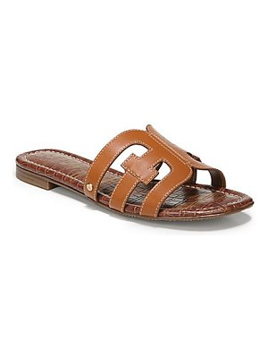Sam Edelman bay leather flat sandals